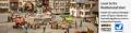 Marktplatzszenen auf der Modellbahn
