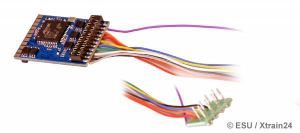 ESU 59620 - LokPilot 5 DCC, 8-pin NEM652, Kabel