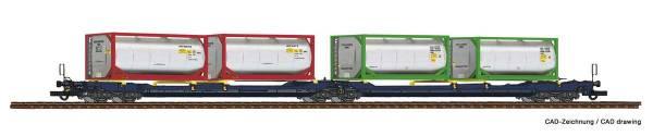 Roco 77388 - Doppeltaschen-Gelenkwagen T3000e