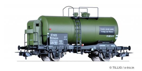 TILLIG 76689. Kesselwagen R der ČSD