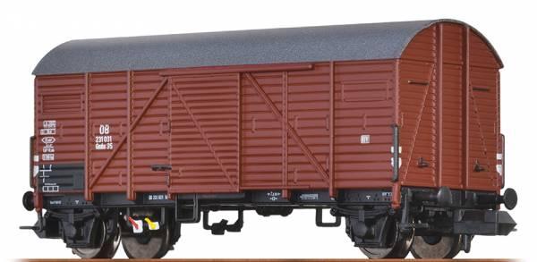 BRAWA 67327 - Gedeckter Güterwagen Bauart Gmhs 35 der DB