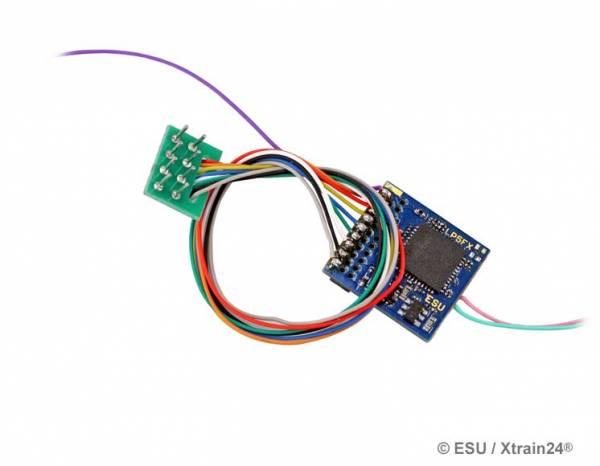 ESU 59210 - LokPilot 5 Fx DCC/MM/SX, 8-pin NEM652