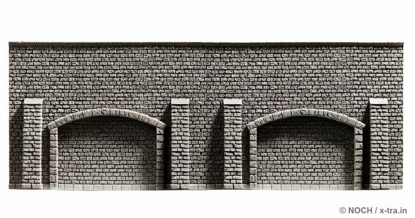 Arkadenmauer extra lang. NOCH 58059