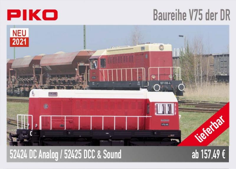 PIKO 52424 Baureihe V75 der DR