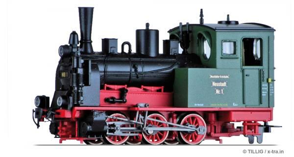 Schmalspur Tenderlokomotive der NKB. TILLIG 02994