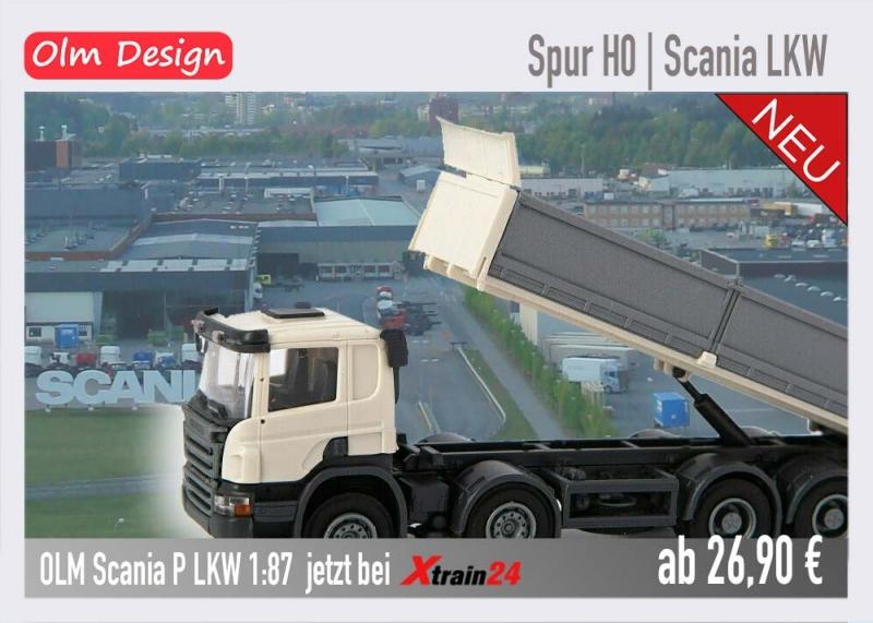 OLM Design Scania LKW