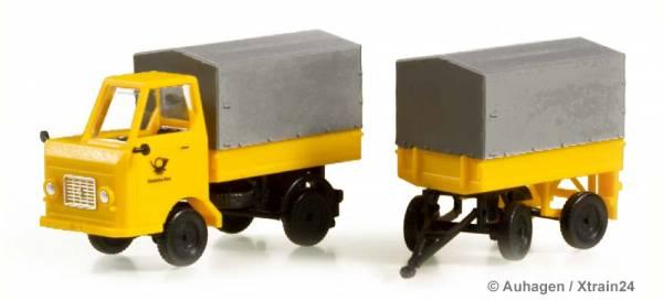 Auhagen 43662 - Multicar M22 Post mit Anhänger