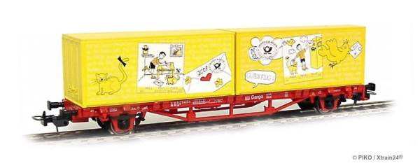 PIKO 72092 - Container-Tragwagen Deutsche Post Philatelie