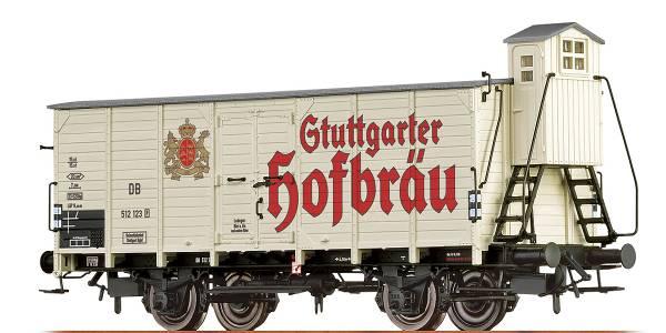 "BRAWA 67472 - Bierwagen Bauart G10 ""Stuttgarter Hofbräu"" der DB"