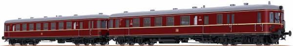 BRAWA 44706 - Verbrennungstriebwagen BR VT60.5 und Beiwagen BR VS145 der DB