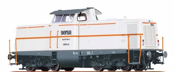 BRAWA 42875 - Diesellokomotive Serie Am847 der sersa