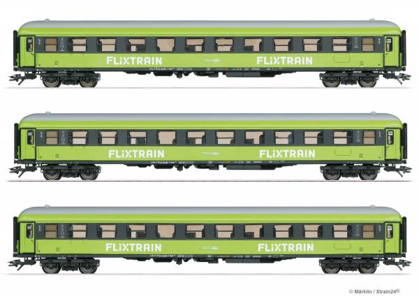 märklin 42955 - Personenwagen-Set Flixtrain