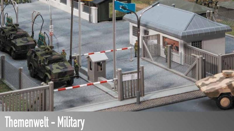 Themenwelt Militär, Einrichtungen und Fahrzeuge