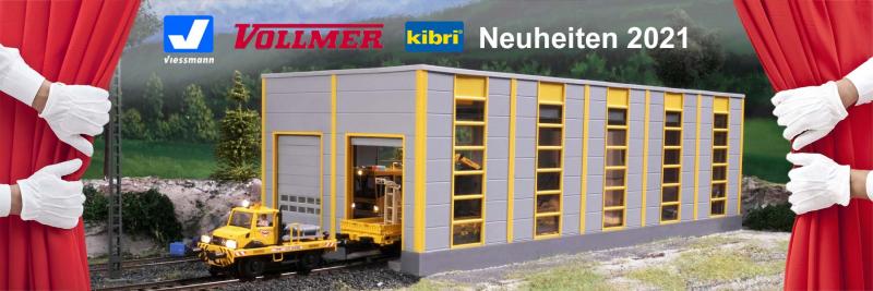 Viessmann / Vollmer / kibri Neuheiten 2021
