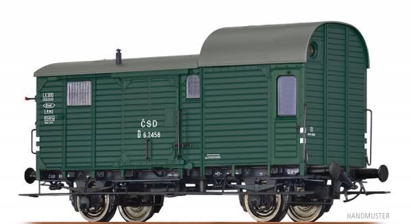 BRAWA 49406 - Güterzuggepäckwagen Bauart D der CSD