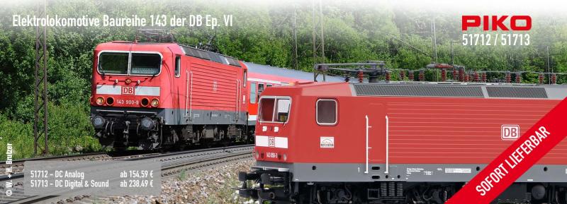 PIKO 51712 Baureihe 143