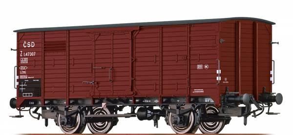 BRAWA 49067 - Gedeckter Güterwagen Bauart Z der CSD