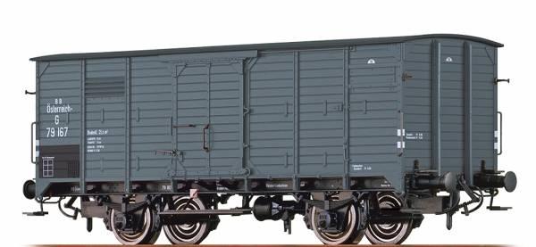 BRAWA 49071 - Gedeckter Güterwagen Bauart G der BBÖ