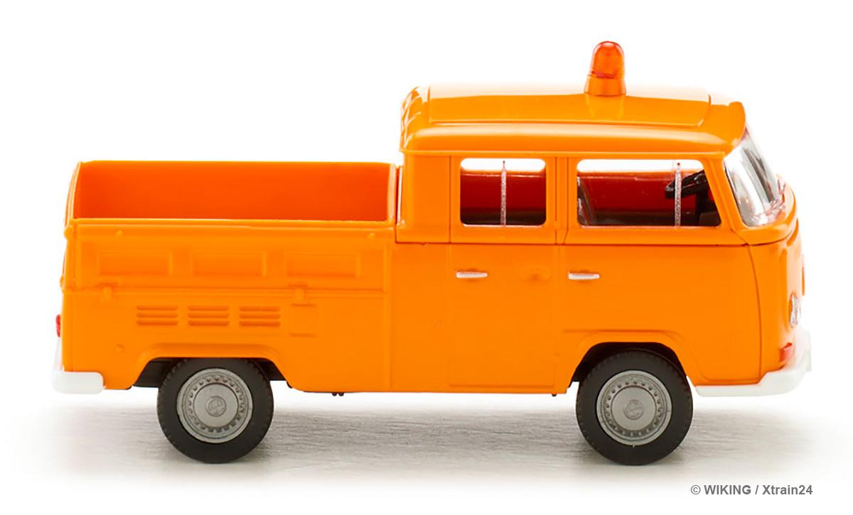 Wiking 031402 H0 LKW VW T2 Doppelkabine Kommunal