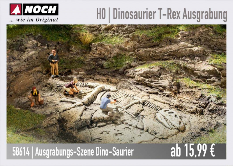 NOCH Ausgrabung Dino T-Rex 58614