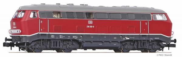 PIKO 40520 - Diesellokomotive Baureihe 216 der DB, analog