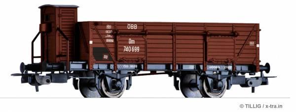 TILLIG 76728. Offener Güterwagen Om der ÖBB