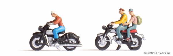 Motorradfahrer. NOCH 15904