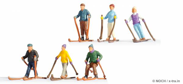 NOCH 15828. Skifahrer