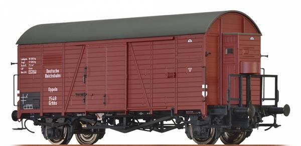 BRAWA 47947 - Gedeckter Güterwagen Bauart Grhhs der DRG
