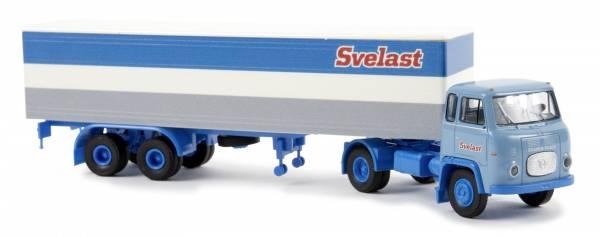 "BREKINA 85157 - Scania LB 76 Koffer-SZ ""Svelast"" (SE)"