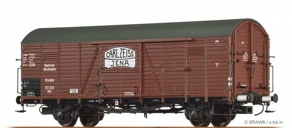 """BRAWA 48725 - Gedeckter Güterwagen, Bauart Gltr """"Carl Zeiss Jena"""" der DRG"""