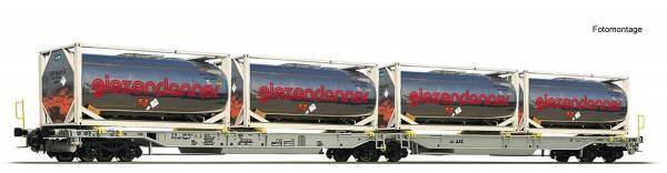 Roco 67403 - Doppeltaschen-Gelenkwagen Bauart Sdggmrs/T2000 der AAE