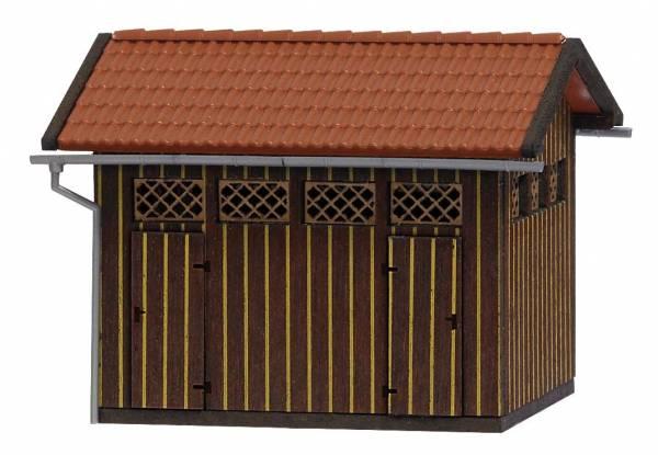 Bahnhofstoilette. Busch 1469