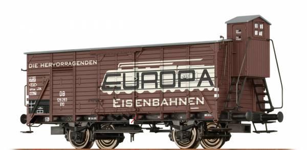 BRAWA 49747 - Gedeckter Güterwagen Bauart G10 der DB