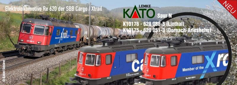 KATO RE620 K10176 / K10175