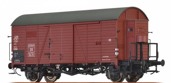 BRAWA 47949 - Gedeckter Güterwagen Bauart Gms 30 der DB / EUROP