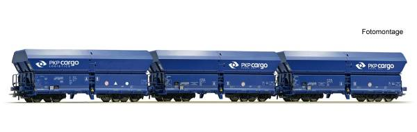 Roco 76133 - 3-teiliges Set: Selbstentladewagen der PKP-Cargo
