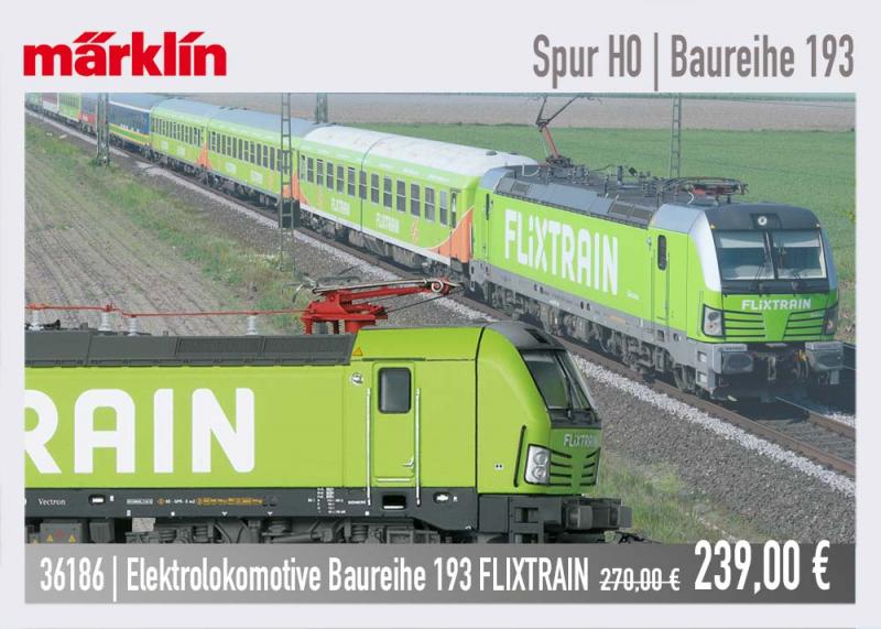 Märklin 36186 FLIXTRAIN