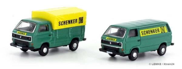 """ᐅ LEMKE LC4316 - 2-teiliges Set VW Bus/Transporter T3 """"SCHENKER"""""""