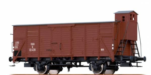 BRAWA 67451 - Gedeckter Güterwagen Bauart G der ÖBB