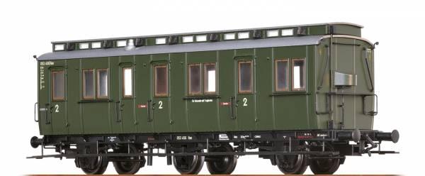 BRAWA 45489 - Abteilwagen 2.Klasse, Bauart B3tr der DB