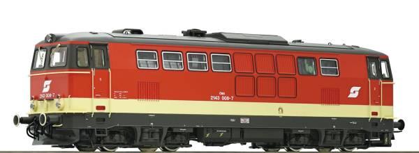 Roco 72720 - Diesellokomotive 2143 008 im Valousek-Design der ÖBB