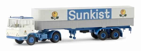 "BREKINA 85271 - DAF FT 2600 PP-Sattelzug ""Sunkist"" (NL)"