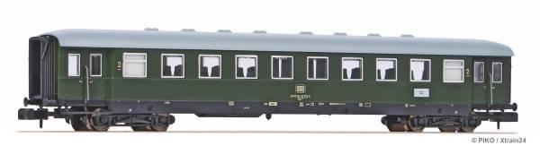 PIKO 40620 - Eilzugwagen (Schürzenwagen) 2. Kl. Bye der DB | N