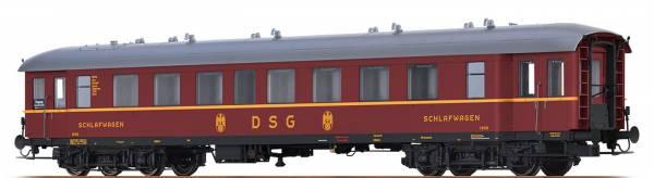 BRAWA 46168 - Schlafwagen Bauart C4üPWL der DSG