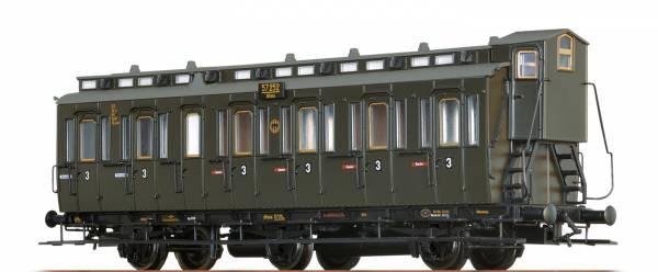 BRAWA 45486 - Abteilwagen 3.Klasse, Bauart C3 der DRG