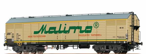 "BRAWA 47271 - Gedeckter Güterwagen, Bauart Gags-v "" Malimo"" der DR"