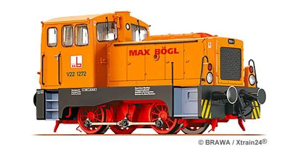 ᐅ BRAWA 42616 - Diesellokomotive V22 der Max Bögl