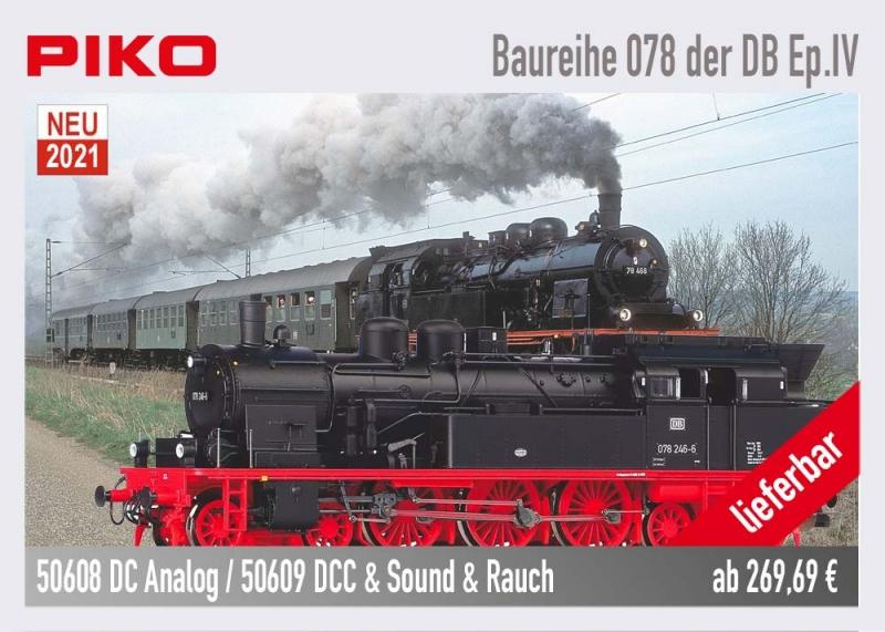 PIKO Baureihe 78 50608