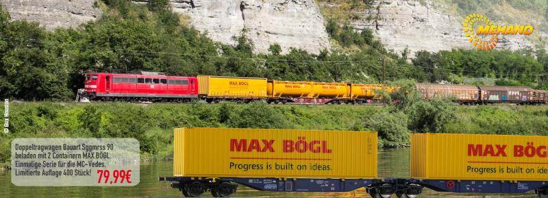 MEHANO Doppeltragwagen Max Bögl 59958